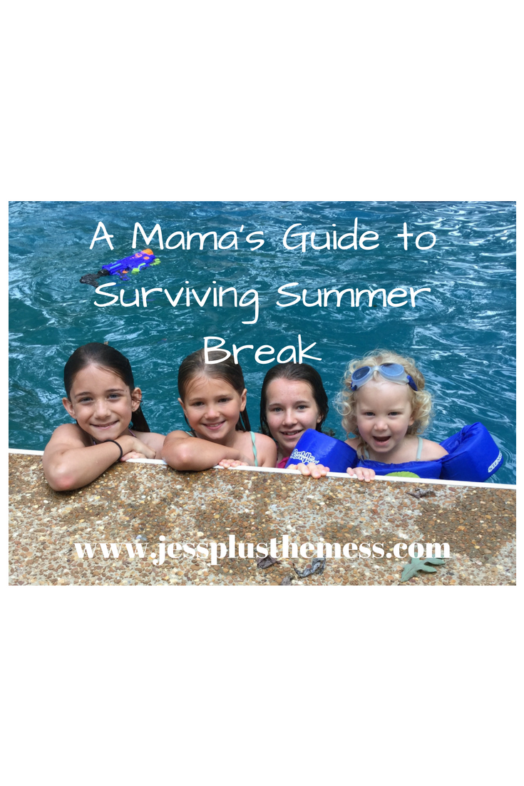 A Mama's Guide to Surviving Summer Break
