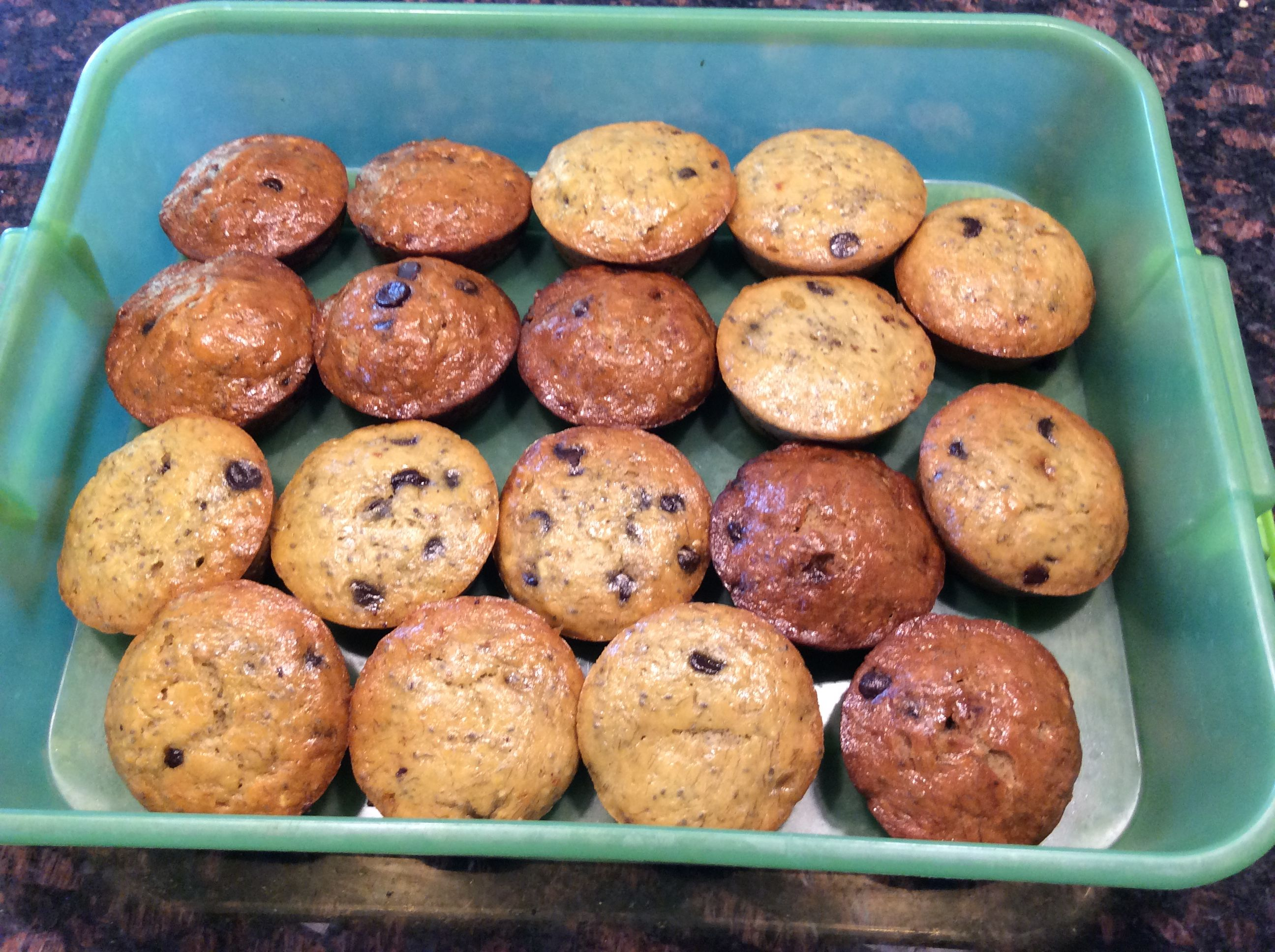 Banana Chocolate Muffin Recipe